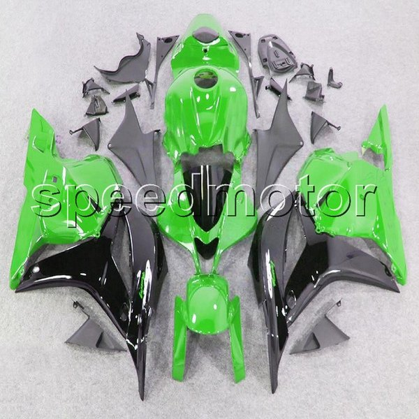 colors+Gifts Injection mold green black motorcycle Fairing for HONDA 2009 2010 2011 2012 CBR600RR 09-12 CBR600 F5 ABS plastic kit