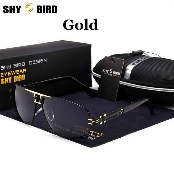 SHYBIRD Polarized UV 400 occhiali da sole da uomo Brand New Maschio Fresco Occhiali da Sole Guida Driving Eyewear Gafas De Sol Shades