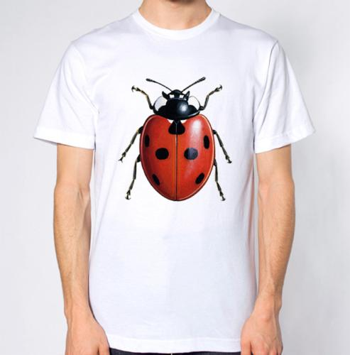 Ladybird T-Shirt brand 2017 New Leisure cotton short sleeves tee Casual male knitted comfortable fabric 2018 New Men Tees Chinese Style