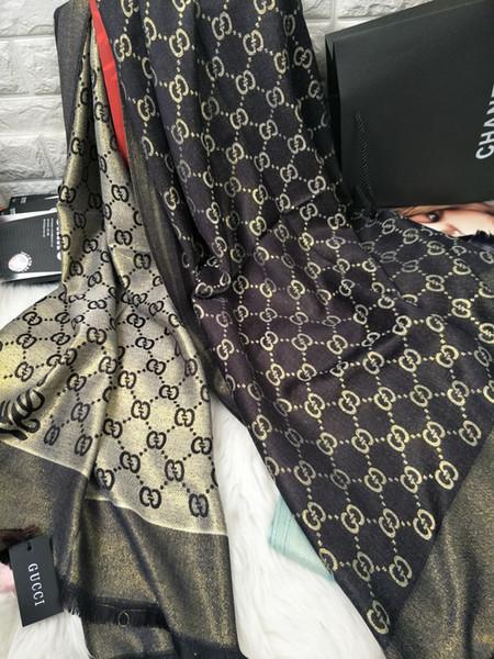 SıCAK Tasarımcı Marka Ipek Eşarplar Fabrika Fiyat Toptan 100% Ipek Eşarp Moda Kız Aksesuarları Kafa Eşarp Kadınlar 180X70 cm