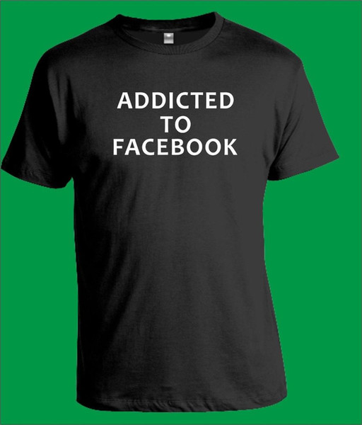 to facblack t-shirt mens womens computer internet geek gift new t shirts funny  tee new funny