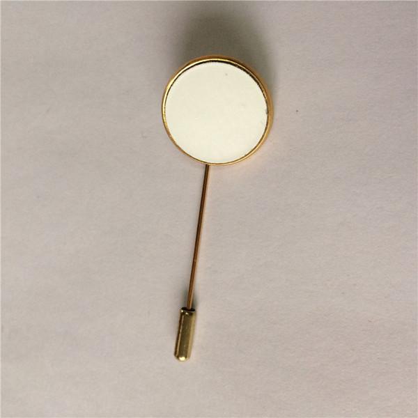 Broches em branco broche para sublimação impressão de transferência de calor jóias para mulheres diy consumíveis materiais 07761