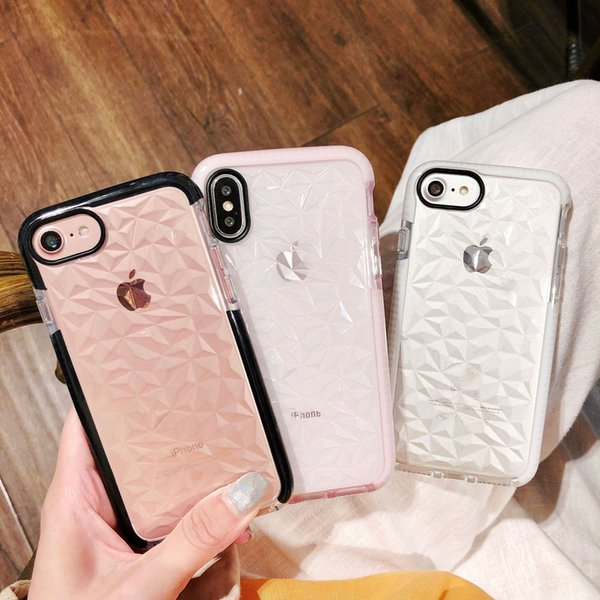 2018 Hot sale for iphone 6S plus case dual color for goophone x designer phone case TPU Back Cover