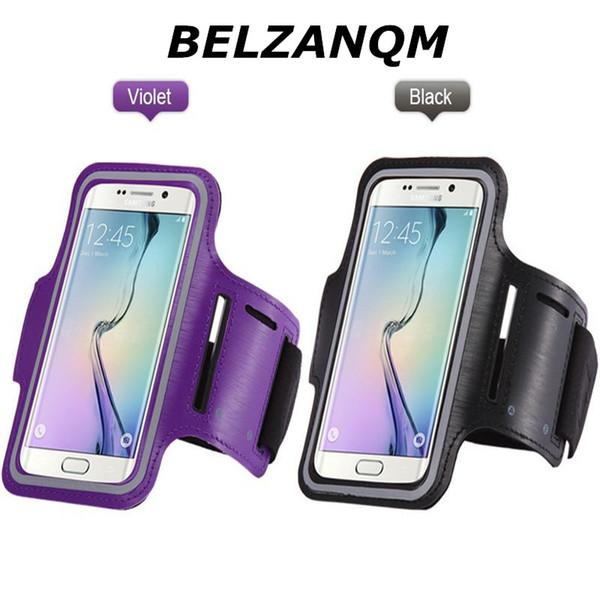 Huawei P10 P9 için spor Koşu Su Geçirmez Kol Bandı Çanta Nova P Akıllı Enjoy7 Kılıfı Spor Kol Bandı 7 6 6 s 4.7 inç Telefon Kılıfı