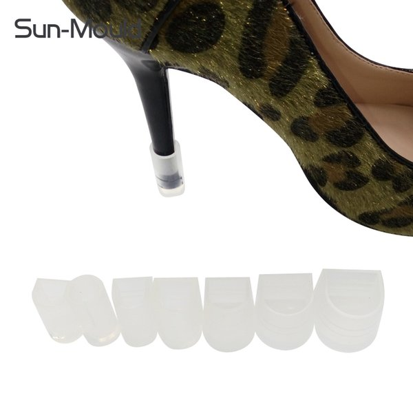 Accessories Shoe Care Kit 7 size stiletto protectors Latin Dance Shoes Protectors Wedding High Heel Shoe Protector protectores tacones ...