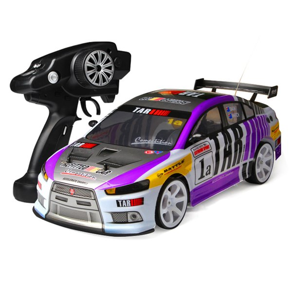 V668 1:10 Electric High Speed RC Car 4WD High-performance Super Power Ready Off-road Racing Rally Car Radio Control Toys