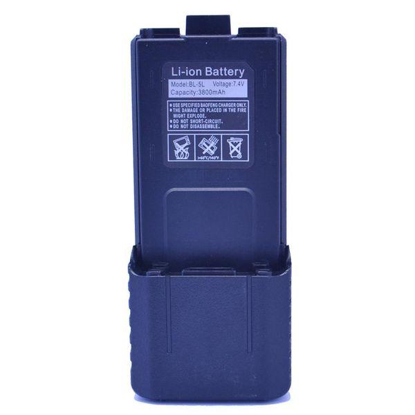 Baofeng Pofung BL-5L 3800mAh 7.4V Extended Li-ion Battery for UV-5R Radio Black