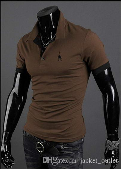 Moda T Shirt Verão Marca Designer T-Shirts Dos Homens Novos Em Branco de Algodão Curto Mangas Masculinas Roupas Casuais Camisas América 508 para venda