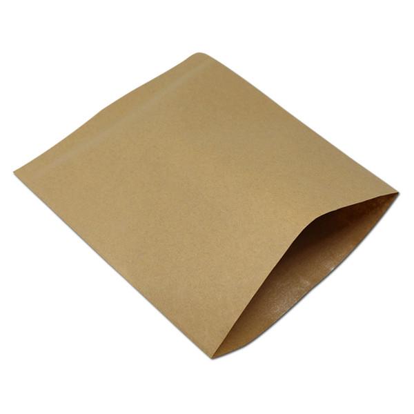 13*15cm Brown Vintage Kraft Paper Bags Greaseproof Pack Bag Party Food Snack Bread Sandwich Chips Packaging Oilproof Craft Paper