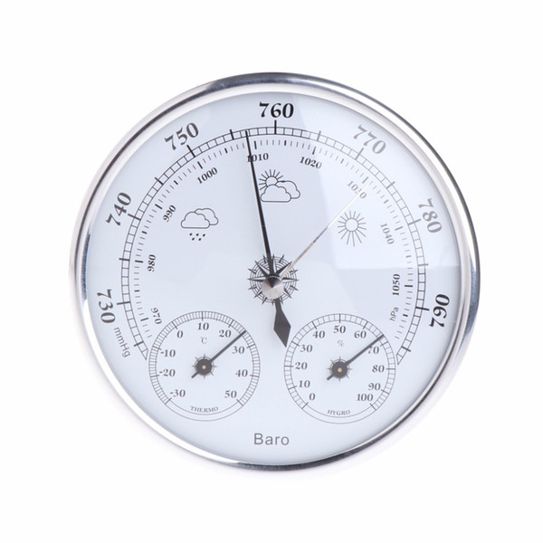 best selling High quality Household Weather Station Barometer Thermometer Hygrometer Wall Hanging