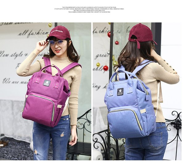 Multifunctional Diaper Backpack Multi-color Baby Mommy Changing Bag Mummy Backpack Nappy Mother Maternity Backpacks