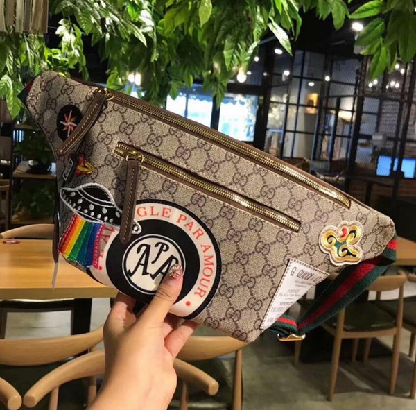 AAAAA Hot Sell High-Quality Pu Women Men Shoulder Bag Brand Waist Bag Chest pack Travel Bags Cosmetic Bag Ladies Clutch Wallet Tote Purse