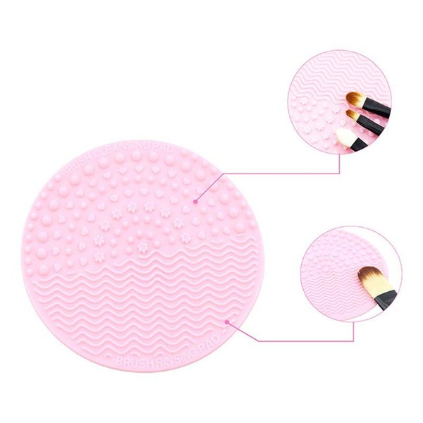 Soft Silicone Facial Cleansing Pads,Bath Wash Brush Hair Face Exfoliator Cleaning Scrubber Massage Shower Sponge