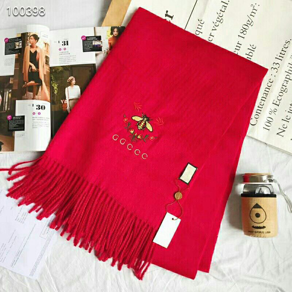 2018 Fashion Winter Top Cashmere Scarf Luxury Brand For Men and Women Classic Check Blanket Scarfs Pashmina Designer Shawls and Scarves