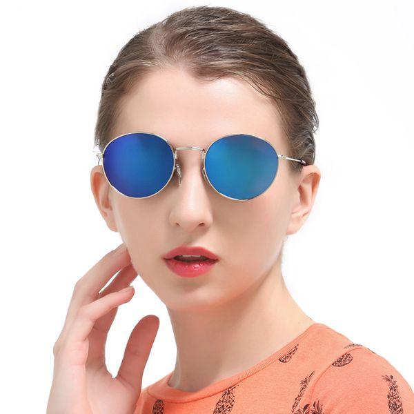 Gafas redondas Gafas de sol Mujer Gafas de sol para hombres Sombras Luneta Zonnebril Dames Sun Hombres Gafas de sol de moda Vasos masculinos