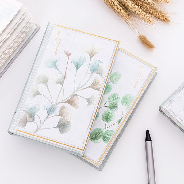 Japanese Concise Shell Bound Book Originality Circle Back Notepad Student Stationery Thickening Diary NotYou