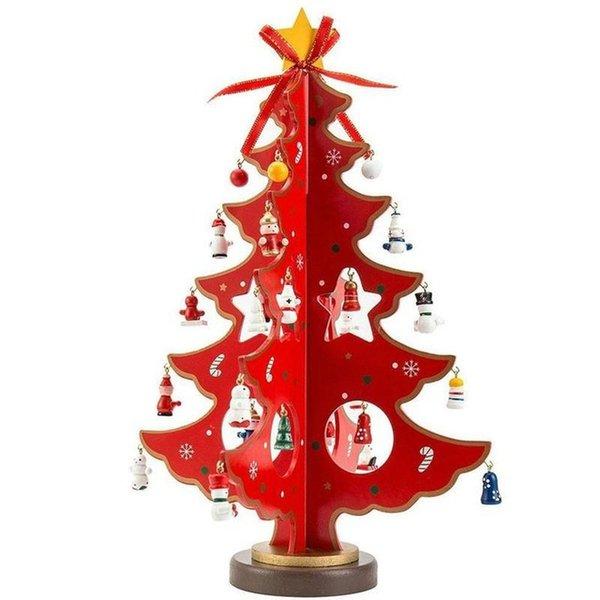 Color: Red Altura del árbol de Navidad: 35cm
