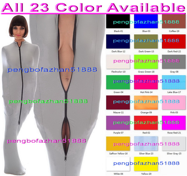 Unisex Mummy Suit Outfit Sexy 23 Color Lycra Spandex Mummy Suit Costumes With internal Arm Sleeves Unisex Mummy Sleeping Bags Costumes P156