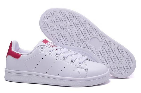 Adidas Stan smith 2017 Haute qualité marque nouvelle stan chaussures mode smith baskets en cuir casual hommes femmes sport chaussures de course jogging baskets classiques appartements