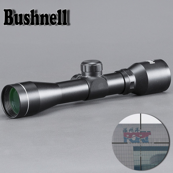 BUSHNELL Hunting Optics 4X32 Airsoft Optical Rifle Scope Sight Con Rail Mount per la caccia