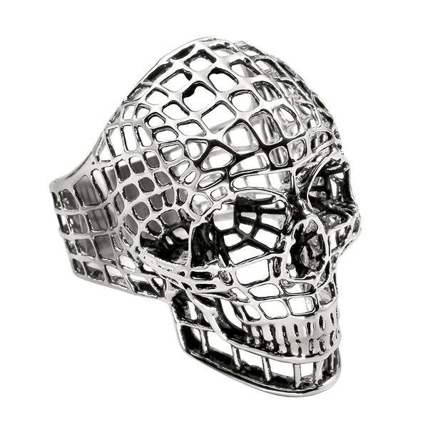 Net skull Silver
