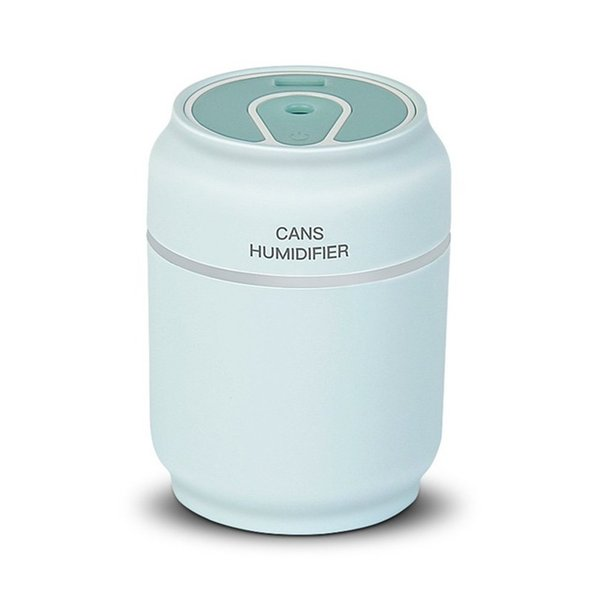 high quality Cans Type Humidifier 3 In 1 Mini Air Purifier USB Car Power Bank Portable Vehicle Humidifier Silent Bedroom Desktop Diffuser