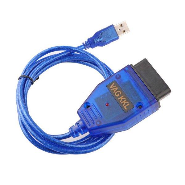 Новый VAG 409 USB KKL кабель VAG 409.1 KKL интерфейс USB OBD2/OBDII диагностический кабель OBD развертки для Audi для серии VAG VW