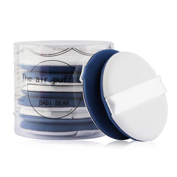 New Brand MAANGE 8 Pz the Air Puff box Cuscino Soffio BB Cream Schiuma Soffio di Trucco Fondazione Viso Liscio Cosmetico In Polvere Applicatore Bellezza