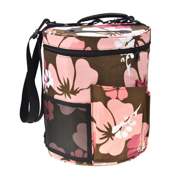 Yarn Case Yarn Storage Knitting Yarn Bag Big Capacity Women Home Crochet Hooks Thread Storage Bag DIY Sewing Kit