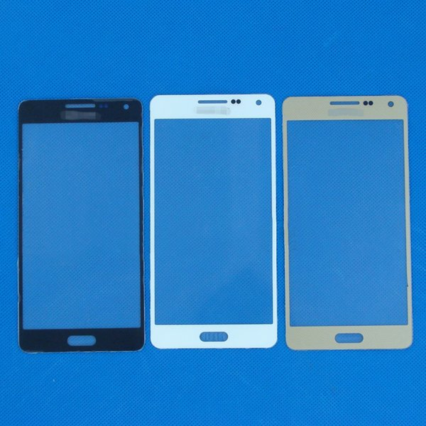TREND-POINT Outer Lens Glass Screen Replacem for Galaxy A5 2015 A500 A500F A500FU A500M Outer Lens Glass Screen Black White Gold