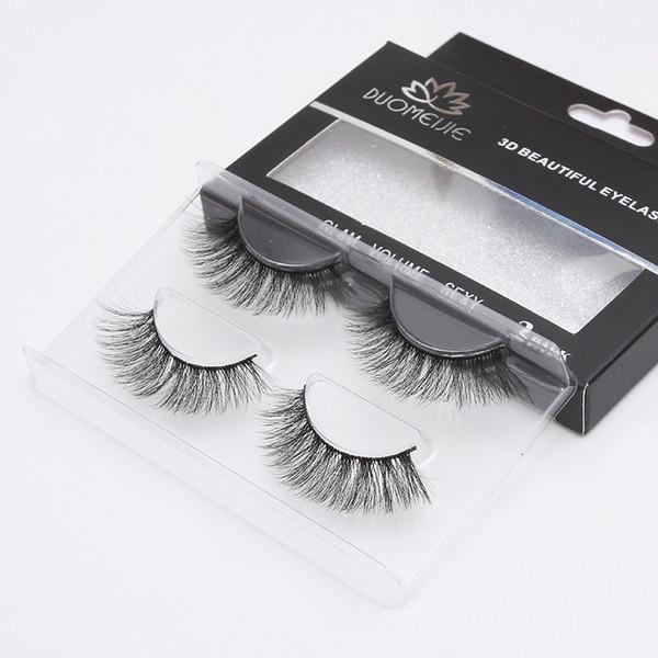 200 Pairs 3D Mink Lashes Natural Long False Eyelashes Dramatic Volume Fake Eyelashes Makeup Eyelash Extension Silk Eye Lashes