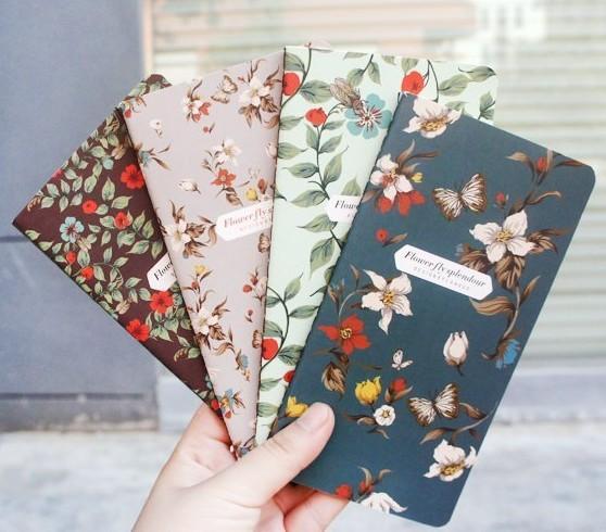 New retro Dancing butterflies series mini notebook/Vintage DIY diary/pocket notepad