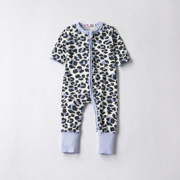 2018 Baby-Spielanzug-Herbst-Frühlings-Baumwollbaby-Klage-lange Hülsen-Overalls O-Ansatz Baby-Kleidungsspielanzug Kinderoveralls