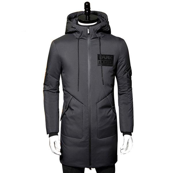 Verdickung Von Outwear Winterjacke Winter Ente Großhandel Männer Männer Mit Warme Daunenjacke Parka Mantel Daunen Wellensteyn Kapuze Lange Weiße 3jRL54A