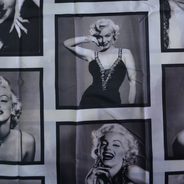 Wasserdichtes Polyester Duschgelagert Marilyn Monroe Muster Dekorative Duschvorhänge Badewannenabtrennungen 180x180 / 200CM