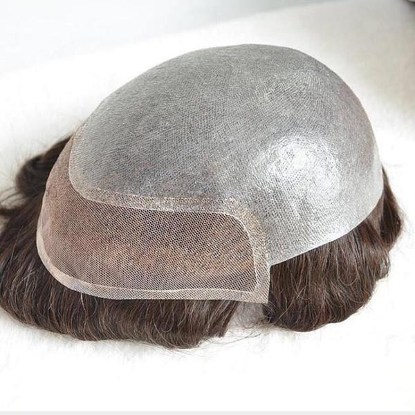 Pièce de rechange de poupée Perruques complètes Cheveux frisés pour