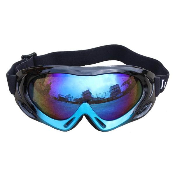 Cool Moto Lunettes De Ski Snowboard Coupe-Vent Anti-poussière Anti-Brouillard Protection UV Cyclisme Réglable Course Sur Route EyewearWinter