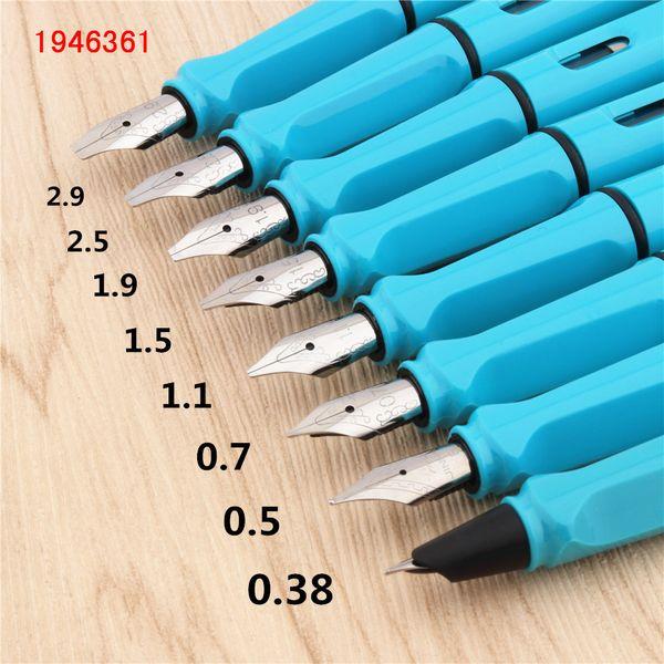 Luxe 873 ciel bleu gothique parallèle à l'art fleur corps art plat pointe vinyle tibétain arabe stylo plume étudiant bureau stylo à encre