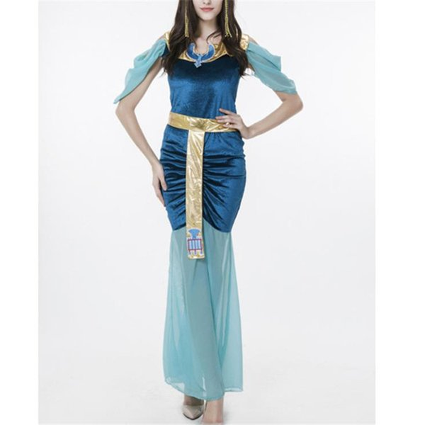 Arab and India Girl Costumes Greek God of Love Goddess Venus Queen Cleopatra Egypt Costume Women Girls Cosplay Halloween Costume