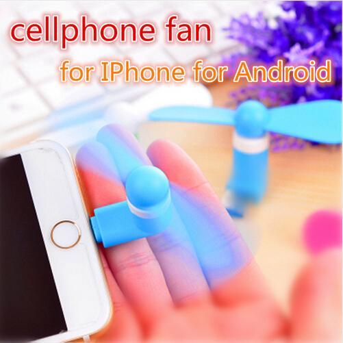 Mini Serin Mikro USB Fan Cep Telefonu USB Gadget Soğutucu Fan Test cihazı cep telefonu tipi-c Samsung S10e S10 artı iphone Için X XS MAX