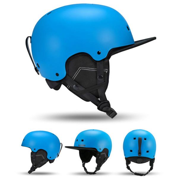 NANDN Homens Mulheres Crianças capacete de esqui outono inverno masculino senhora equipamentos de esqui monoboard Snow Sports capacetes de segurança