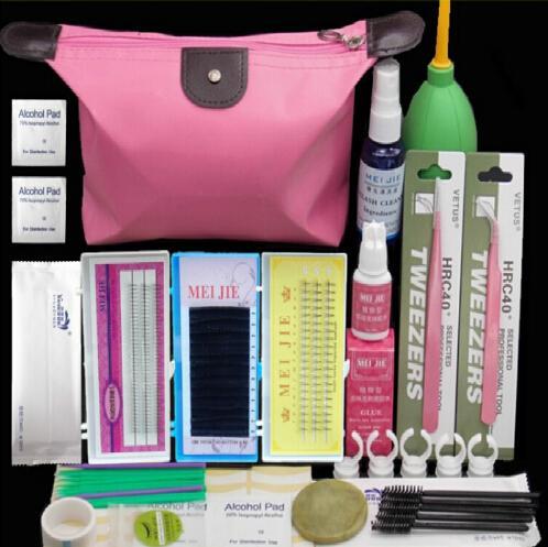 Professional Eyelashes Extension Curler Kit False EyeLash Lashes Makeup Set Fashion Eyelash Extension Kit Makeup Set