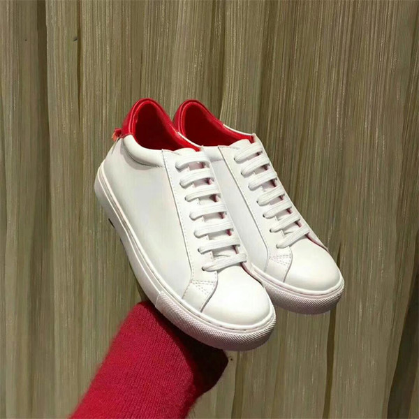 белый(красный каблук)