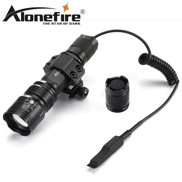 AloneFire TK104 Cree L2 LED Tactical Flashlight 18650 Powerful Bike Light Lamp Torch light Portable Flash light Camping Hunting