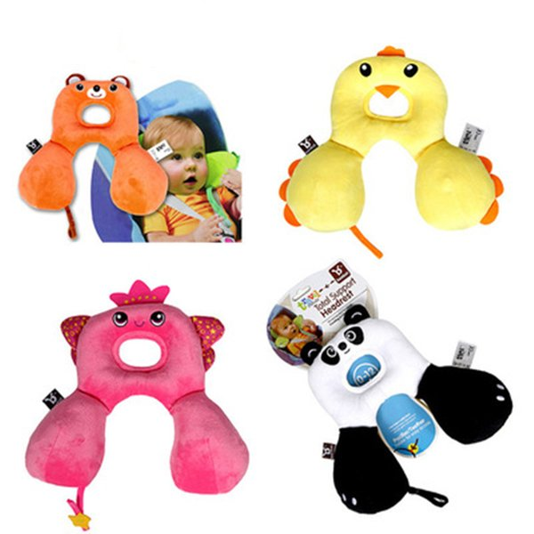 Cute Animal Shape Baby Pillow Neck Protection Pillow For 0-12Years old Kids Infant Toddler Safety Seat Travel Accessories