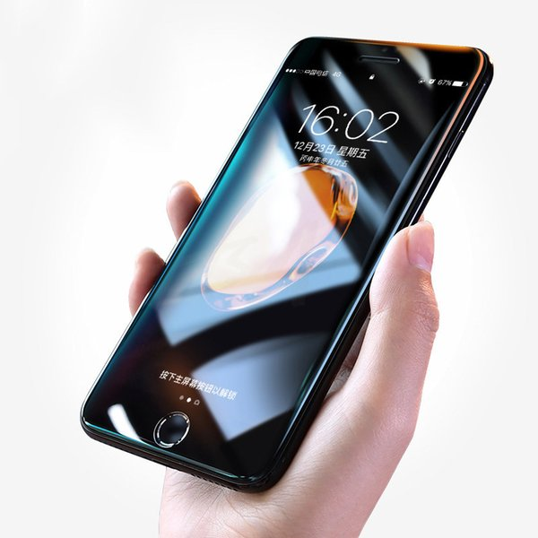 5D Full Cover Tempered Glass For iPhone X Xr Xs Max Screen Protector iphone 7 8/plus glass Film Curved Edge Protection