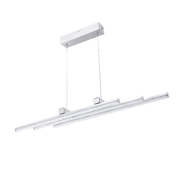 New stylish 36W LED crystal aluminium pendant light modern dinning room pendant lamp indoor lighting fixture luminaire for office