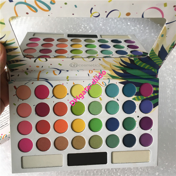 Nueva paleta de sombras para ojos Take Me to Brazil 35 colores Matte Shimmer Sombra de ojos Resaltador Sombra de ojos Beautycreations
