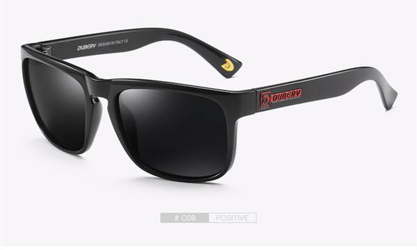 cdf057fc7d534 DUBERY Polarizada Aviação Óculos de Sol dos homens Do Vintage Masculino  Colorido Óculos De Sol Para