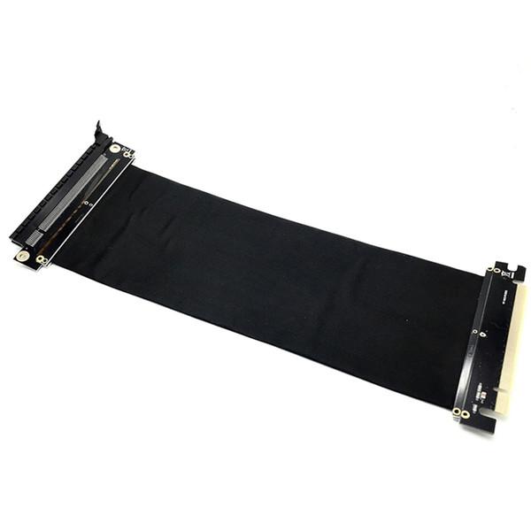 PCI Express 3.0 High Speed 16X Flexible Kabelverlängerung Port Adapter Riserkarte PC Grafikkarten Stecker Kabel 24cm D23